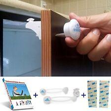 *New* Premium Child Cabinet Drawers Safety Lock Set Magnetic Baby Locks Latches