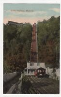 Incline Railway Montreal Canada Vintage Postcard US112