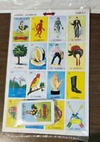 JUMBO Don Clemente Mexican Loteria Bingo Chalupa Game 10 Boards, 1 Deck 54 Cards