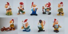 KINDER FERRERO SURPRISE FIGURE CARTINE SERIE GNOMI NANI GNOMBURLONI DWARFS RAR