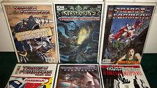 Transformers Idw Maximum Dinobots 1-5 Infestation 2 Devastation Continuum Target