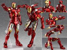 Marvel's The Avengers figma EX-018 Iron Man Mark 7 VII Figur Figuren No Box