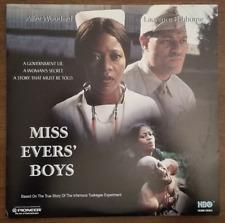 LASERDISC Movie: MISS EVERS BOYS - Laurence Fishburne, Alfre Woodard Collectible