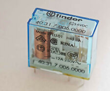 TWO PIECES POWER RELAY FINDER 40.31.7.006 SINGLE POLE CHANGEOVER 6V COIL