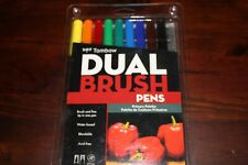 Tombow Tb56167 Dual Brush Pen 10 Color Primary Set
