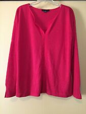 NEW Sanctuary Red Pullover Knit Top, V-Neck,  Size XXL, NWOT