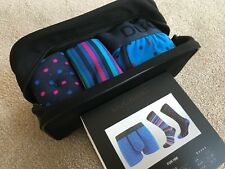 DUCHAMP WASH BAG GIFT SET - 2 X SOCKS (UK 7-11) & 1 X BOXER SHORTS (SIZE XL)BNWT
