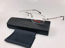 🔹New PRADA SPORT VPS 54E ROU-1O1 Bronze Rimless Eyeglasses 55mm with Case