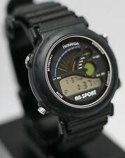 Rare E.Gluck Corp Armitron All-Sport 100m Lithium Sport Graph Digital Mens Watch