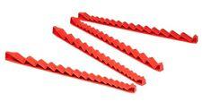 Ernst 6050   30 Tool No-Slip Low Profile Wrench Rail Organizer - Red - USA