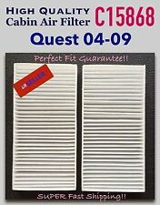 Quest 04 05 06 07 08 09 High Quality CABIN AIR FILTER C15868 A+++ Perfect Fit!