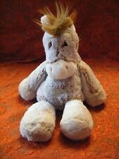 """Mary Meyer Brown / cream  Horse soft toy  15"""" approx VGC (B145)"""