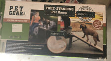 Pet Gear Free Standing Ramp for Cats and Dogs supertraX - Up to 200 pounds
