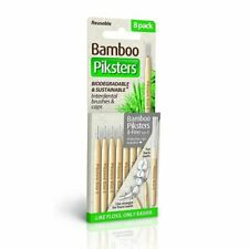 Bamboo Piksters Size 0 - 8 pack New
