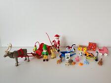 Playmobil lot Père Noël traineau renne lutin ange cadeaux de Noël -Lot n°2-