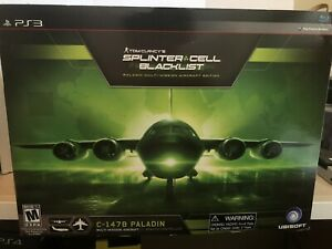 PlayStation 3 Splinter Cell Blacklist Paladin Aircraft Collector Edition CIB