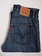 LEVIS 505 Jeans Homme Standard Fit Straight W34 L34 bleu moyen Strauss levh 375 #
