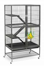 Ferret Cage House Habitat Kitty Iguana Home Reptile Animal Enclosure Rat Stand