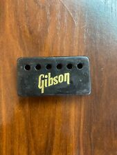 Vintage Gibson Embossed Pickup Cover Black NECK