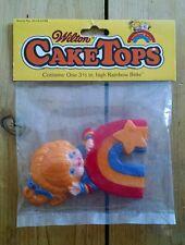 New Vintage 1983 Wilton RAINBOW BRITE CAKE TOPS 3 1/2 inch Topper - Hallmark