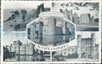 Sussex castles 5 views 1962 postmark 369A