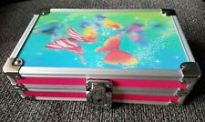 Vaultz Metal Supply Box w/Sturdy Key Locking Exterior 3D Lenticular Butterflies