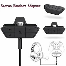 For Xbox One Stereo Headset Adapter Adapter Audio With 3.5mm Controller Stereo S