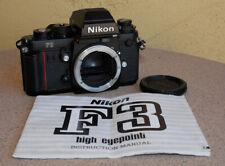 Nikon F3HP Black SLR Camera body with manual - EXC condition - F3 HP