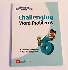 Singapore Math Primary Math Challenging Word Problems 6-FREE Expedited UPGD W$45