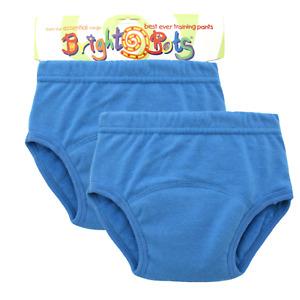 Bright Bots 2 x Washable Potty Training Pants Reusable Blue Small 12mths - SALE
