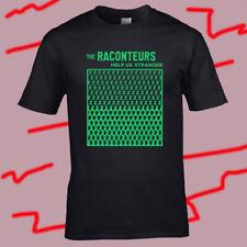 The Raconteurs Help Us Stranger Men's Black T-Shirt Size S-3XL