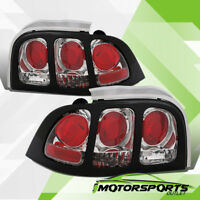 1994-1998 Ford Mustang/GT Factory Style Chrome Tail Lights Pair 1995 1996 1997