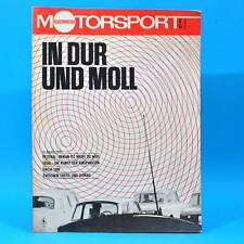 DDR Illustrierter Motorsport IMS 2 1973 Dacia 1300 Trial Fiat 132 Formel 1 U