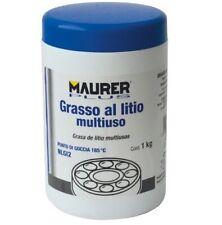 GRASSO MULTIUSO INGRANAGGI PROFESSIONALE AL LITIO 1 KG PROTEGGE LUBRIFICA MAURER
