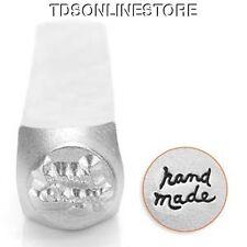 """Metal Design Stamp By Impressart 6mm """"Hand Made"""""""