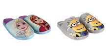 DISNEY Kinder Hausschuhe - Frozen oder Minion - Pantoffeln  - NEU!