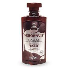 Seboravit Black Radish Extract Shampoo for Oily Hair 330ml SEB1001