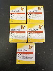 250 Freestyle Lite Diabetic test strips