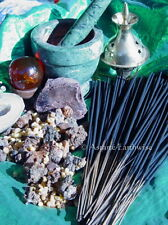 FRANKINCENSE & MYRRH - 20 x  INCENSE STICKS - Wicca Pagan Witch Goth Spell