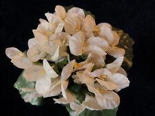 "Millinery Flower 1 3/4"" Violets Cream Ivory Lot of 20 Bridal Wedding Hair Y100"