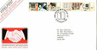 8 SEPTEMBER 1982 INFORMATION TECHNOLOGY ROYAL MAIL FIRST DAY COVER LONDON WC SHS