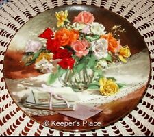 Vionne Morley ROSES 1st Issue In Flowes Of Your Garden Series Collectors Plate