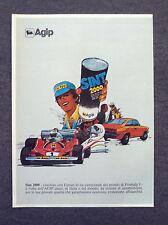 G600-Advertising Pubblicità-1980 - AGIP SINT 2000
