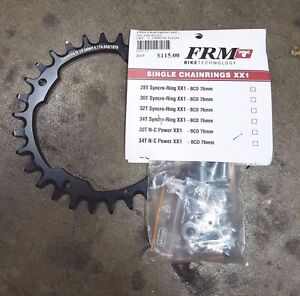 FRM 30T SYNCRO-RING BCD 104MM (+ADAPTERS)