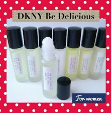 ▓ Pure grade perfume body oil (DKNY BE DELICIOUS FOR WOMEN) 10ML ROLL ON BOTTLE