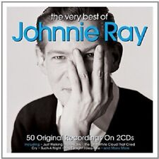Johnnie Ray Very Best Of 2-CD NEW SEALED 2016 Just Walking In The Rain/Cry+