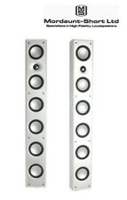 New Mordaunt-Short Alumni 8 Tower Speakers (Pair) (White) RRP $1399