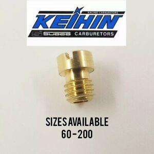 Keihin Carburetor Carb Main Jet Short 8mm 99101-393 CVK PE PZ 60 - 200 **OFFER**