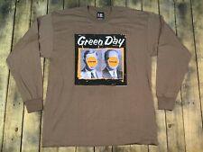 Xl * Nos vtg 90s 1998 Green Day nimrod long sleeve tour t shirt * punk