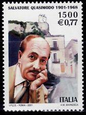 ITALIA 2001 2508 SALVATORE QUASIMODO . LITERATURA POETA/PERIODISTA 1v.